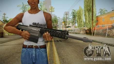 Gunrunning Heavy Sniper Rifle v1 for GTA San Andreas third screenshot