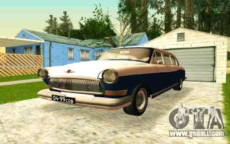 GAZ 21 Limousine v2.0 for GTA San Andreas