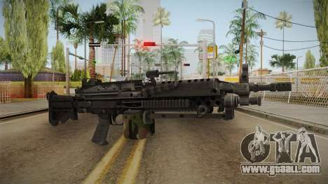 M249 Light Machine Gun v3 for GTA San Andreas