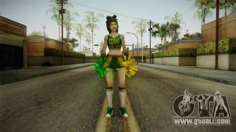 Cheer Captain Kerrigan v3 for GTA San Andreas second screenshot