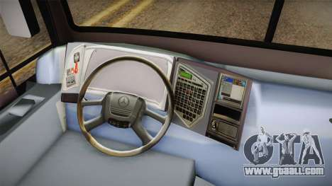 Metalsur Starbus 1 Piso Elevado for GTA San Andreas back view