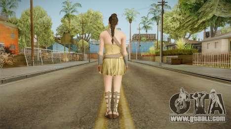 Wonder Woman (Amazon) from Injustice 2 for GTA San Andreas third screenshot