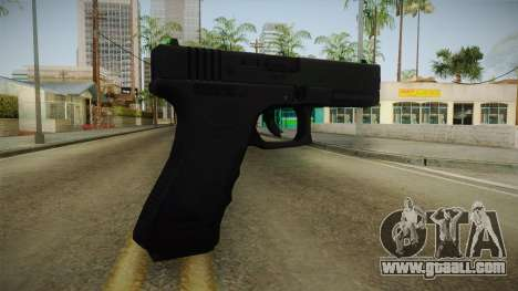 Glock 18 3 Dot Sight Green for GTA San Andreas second screenshot