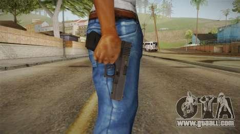 Glock 17 3 Dot Sight Pink Magenta for GTA San Andreas third screenshot