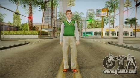 Donald Anderson from Bully Scholarship for GTA San Andreas second screenshot