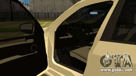 BMW X5M v1.2 for GTA San Andreas right view