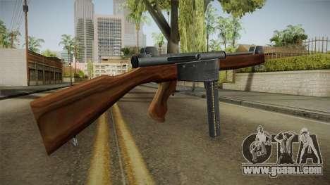 Ingram Model 6 SMG for GTA San Andreas second screenshot