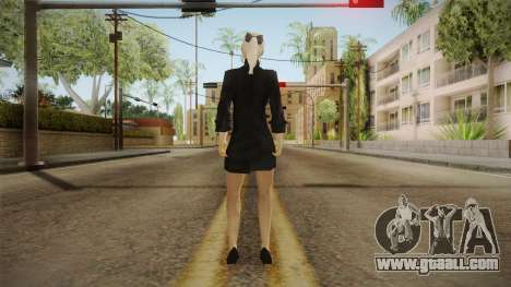 Female Black Sweater One Piece v1 for GTA San Andreas
