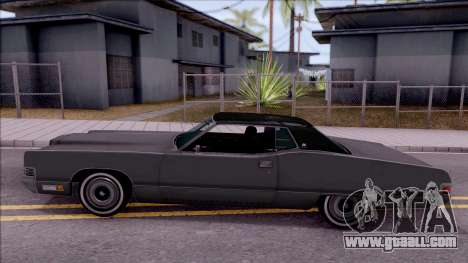 Mercury Marquis 1971 for GTA San Andreas left view