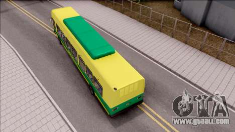 GTA V Brute Bus for GTA San Andreas back view
