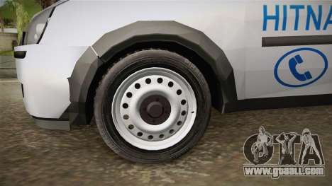 Opel Combo Ambulance for GTA San Andreas back view