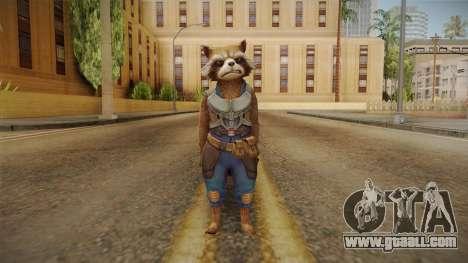 Marvel Future Fight - Rocket Raccon (GOTG Vol 2) for GTA San Andreas second screenshot