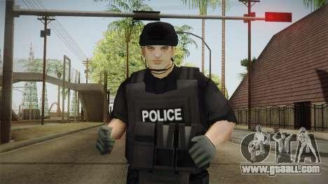 New SWAT Skin for GTA San Andreas