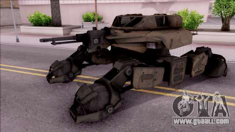Mobile Art-Installation COD: Advance Warfare for GTA San Andreas