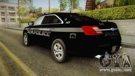 Ford Taurus Stealth 2016 YRP for GTA San Andreas left view
