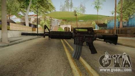 Colt M4A1 Rusty for GTA San Andreas