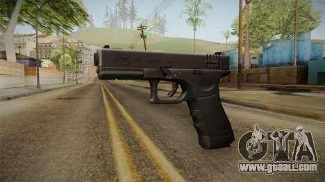 Glock 18 3 Dot Sight Pink Magenta for GTA San Andreas