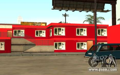 New textures of hotel Include for GTA San Andreas third screenshot