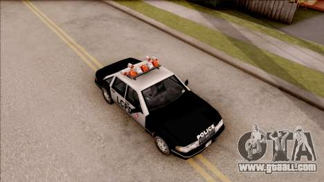 Police Car from GTA 3 for GTA San Andreas right view