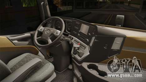 Mercedes-Benz Arocs SLT 4163 8x4 Euro 6 v2 for GTA San Andreas inner view