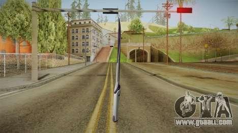 Mass Effect: Andromeda - Asari Sword Purple for GTA San Andreas third screenshot