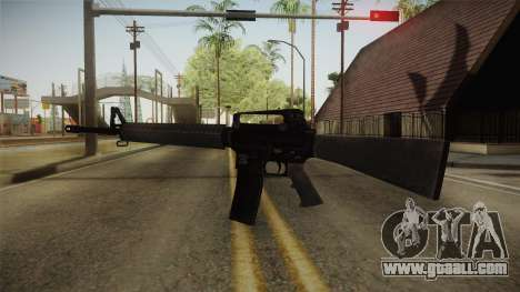 COD Advanced Warfare M16 for GTA San Andreas second screenshot