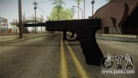 Glock 21 3 Dot Sight with Long Barrel for GTA San Andreas second screenshot