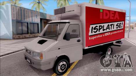 Zastava Daily 35 Transporter for GTA San Andreas