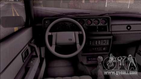 Volvo 242 InterCooler Turbo for GTA San Andreas inner view