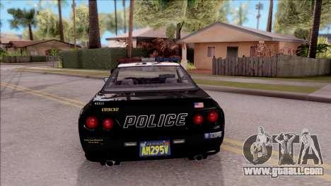 GTA V Annis Elegy Retro Interceptor for GTA San Andreas back left view
