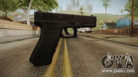 Glock 17 3 Dot Sight Pink Magenta for GTA San Andreas second screenshot