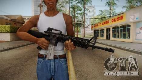 Battlefield 3 - M16 v2 for GTA San Andreas third screenshot