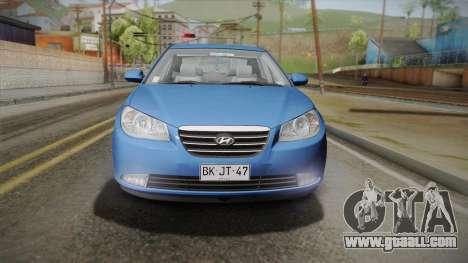 Hyundai Elantra 2008 for GTA San Andreas right view