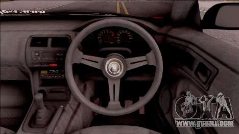 Nissan Silvia S14 Drift Nishikino Maki Itasha for GTA San Andreas inner view
