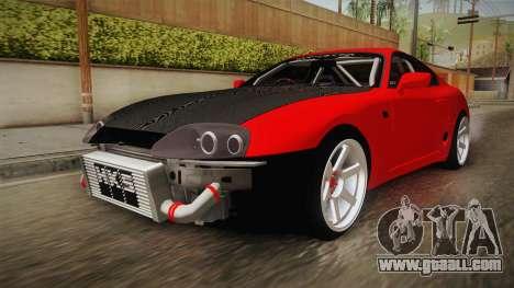 Toyota Supra Drift Monster Energy for GTA San Andreas