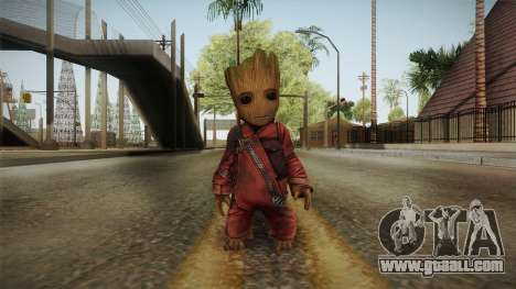 Marvel Future Fight - Groot (GOTG Vol. 2) for GTA San Andreas second screenshot