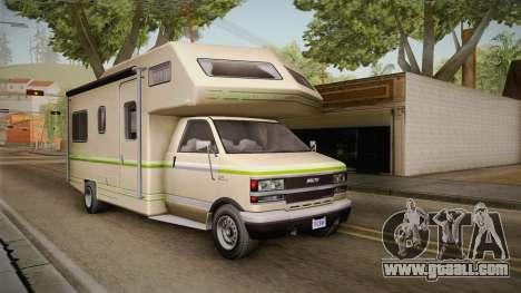 GTA 5 Brute Camper for GTA San Andreas