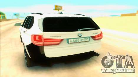 BMW X5 for GTA San Andreas right view