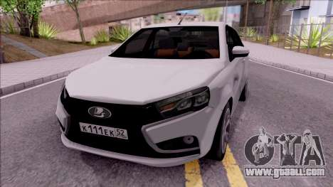 Lada Vesta 2016 for GTA San Andreas