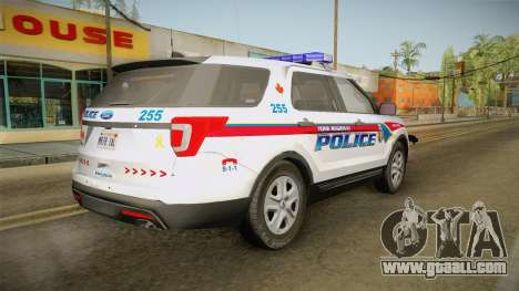Ford Explorer 2016 YRP for GTA San Andreas left view