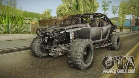 Ghost Recon Wildlands - Unidad AMV No Minigun v2 for GTA San Andreas