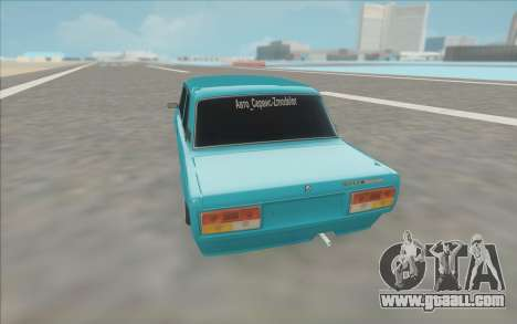 2107 for GTA San Andreas back view