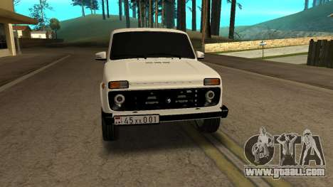 VAZ 2121 ARM for GTA San Andreas back view