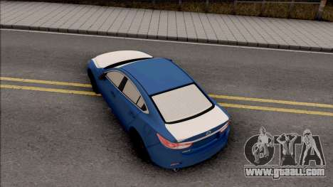 Mazda 6 Standard 2015 for GTA San Andreas back view