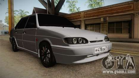 ВАЗ 2115 Light Tuning for GTA San Andreas right view