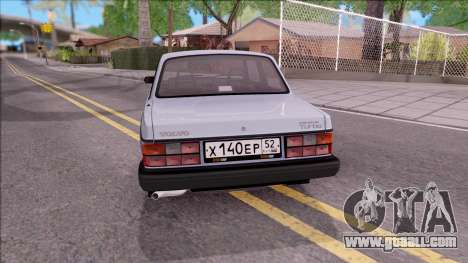 Volvo 242 InterCooler Turbo for GTA San Andreas back left view
