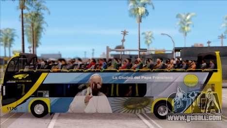 Scania Metalsur Starbus 2 Descapotable for GTA San Andreas left view