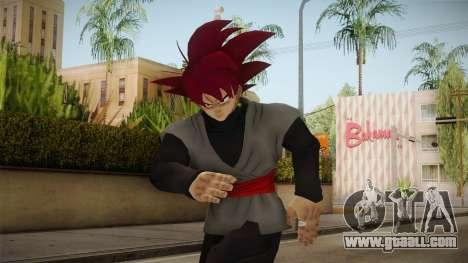 DBX2 - Goku Black SSG v2 for GTA San Andreas