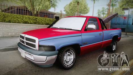 Dodge Ram 2500 Towtruck for GTA San Andreas