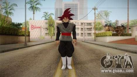 DBX2 - Goku Black SSG v2 for GTA San Andreas second screenshot
